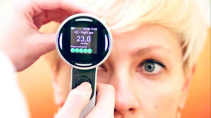 измерение глазного давления